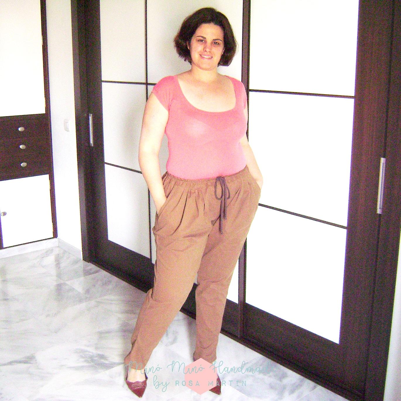 Diy Pantalón Sarouel de Patrones Mujer