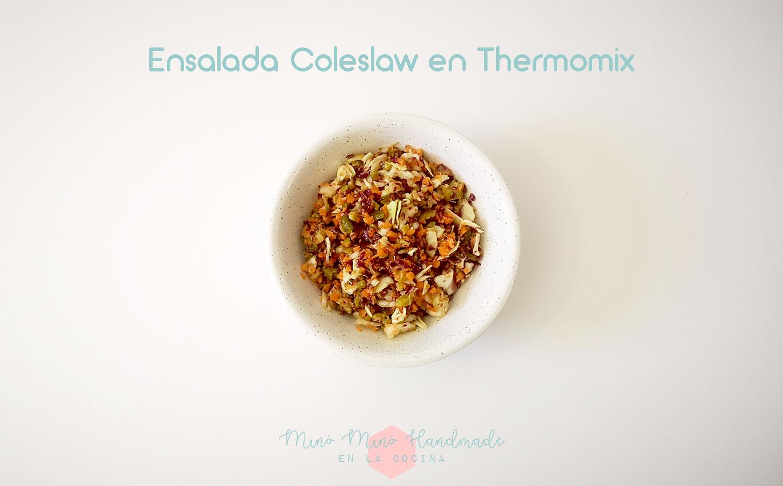Ensalada coleslaw en Thermomix
