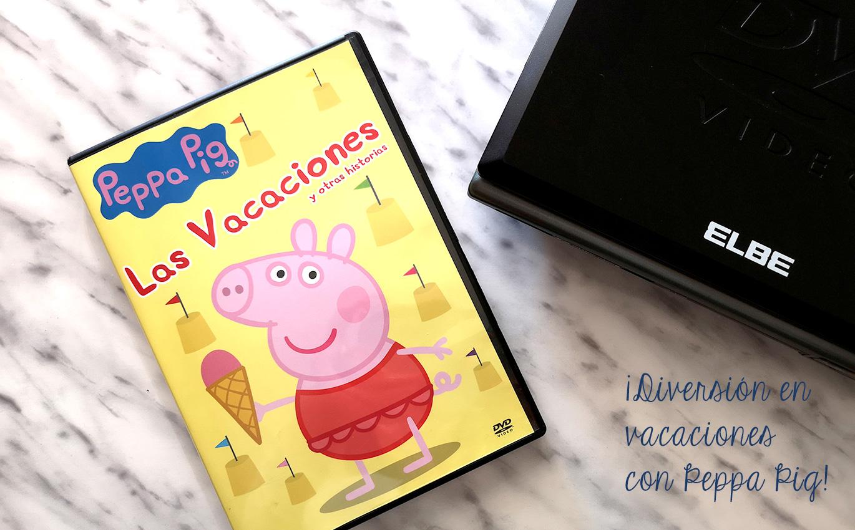 ¡Diversión en vacaciones con Peppa Pig!