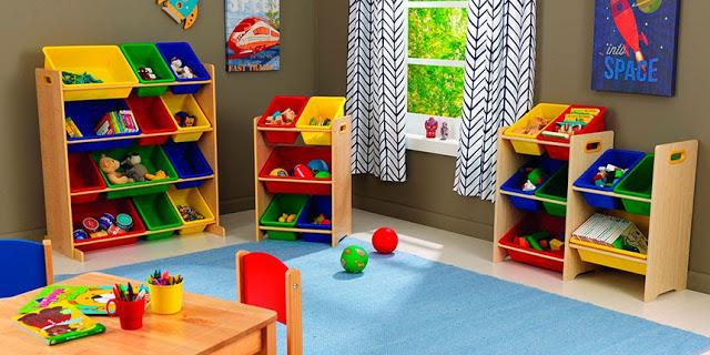 ¿Cómo organizar los juguetes de nuestros hijos?