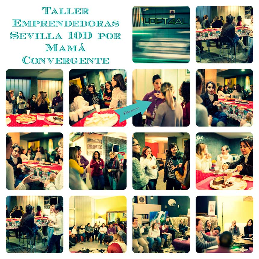 Evento emprendedoras Sevilla por Mamá Convergente