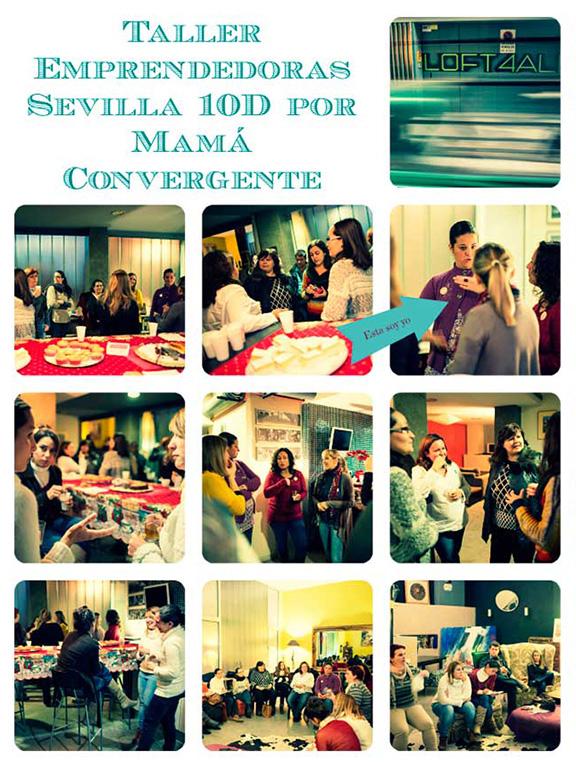 Taller emprendedoras Sevilla