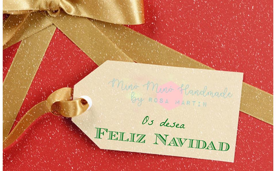 Minó Minó Handmade os desea Feliz Navidad