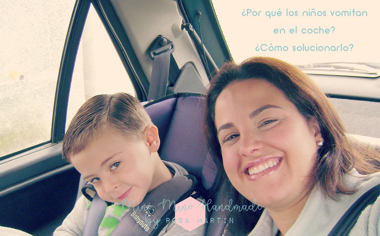 Por qué los niños vomitan en el coche y como solucionarlo