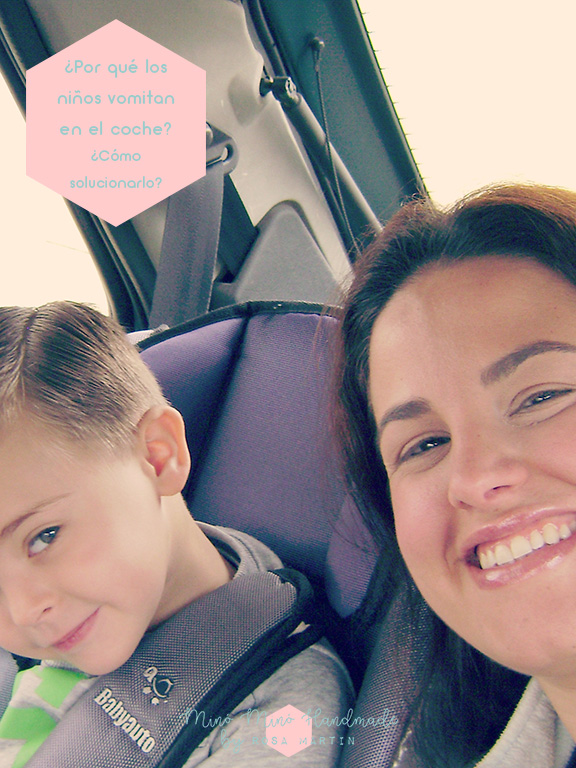 ¿Por qué los niños vomitan en el coche? ¿Cómo solucionarlo?